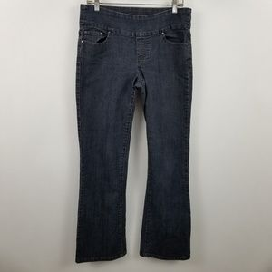 Jag Jeans Pull On High Rise Boot Cut Leg Jeans 10